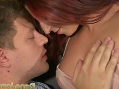 Dane Jones Cock loving petite redhead likes to ride a big cock deep