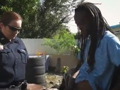 Police officer fucks teen first time Black