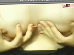 Asian webcam slut rubbing her pussy before a sex cam