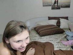 19 yrs old shy hairy russian cam-slut
