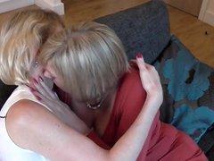 Mom on mom sexy lesbian twosome