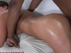 Milf gets bred in every hole by MASSIVE BBC!