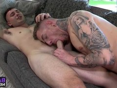 Danny Gunn and Johnny Riley have wild fuck session