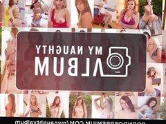 MY NAUGHTY ALBUM - Hot Czech teen sucks dick in studio fuck
