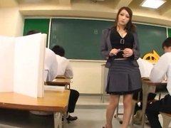 Japanese teacher J blowjobs