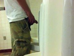 Spy men at urinal XXI