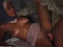 While fuck her arab first time The Booty