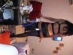 moroccan girl dancing for african
