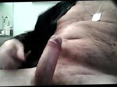 ITALIAN DADDY JACKS OFF HIS BIG THICK UNCUT
