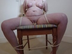 Tied to Chair Bondage