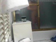 hairy shower teen