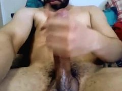 Ontario Str8 Man with Big Cock Busts a Brutal Cumshot #77
