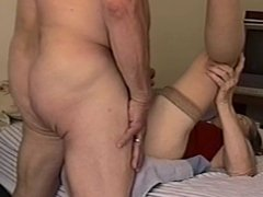 Grandma's ass quickie