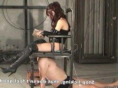 Slave keep licking until mistress Miyuki is satisfied