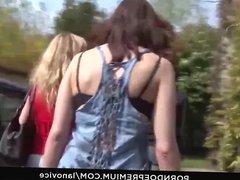 LA NOVICE - Horny babes enjoy lesbian makeout