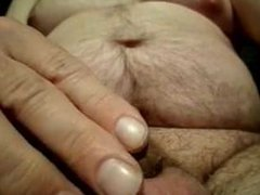 Big balls small cock in then out