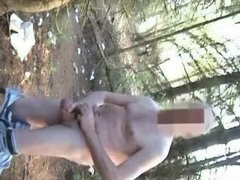 Naked Pig Used by 3 Guys at The Rest Area