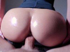 MILF Hot Riding on Hard Cock, 4K (Ultra HD) - Alena LamLam