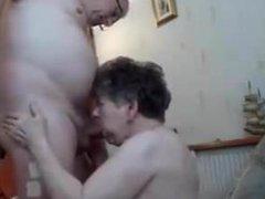 Granny suck grandpa