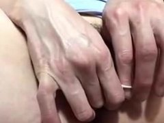 Japanese Girl plays with love balls 1