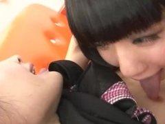 asian lesbian kissing