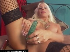 Multiple Sex Toys In & Out Of Wet Euro Porn Star Puma Swede!