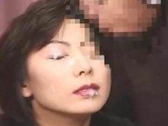Asian MILF Bukkake (censored)