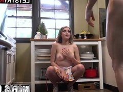 Kinsley Eden - Teens Anal Birthday Gift - Lets Try Anal