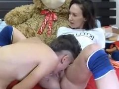 Amateur - Hot MFF Threesome on Cam