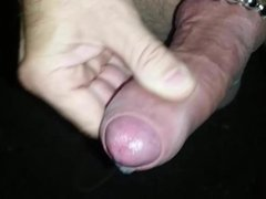 Cumming with the ball rings on