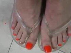 Transparent Flip Flops