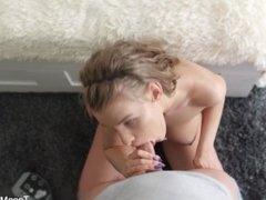 Anal-Beauty.com - Eva C - Lad surrenders to silk lingerie