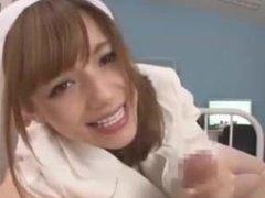 Tina Yuzuki Nurse Handjob