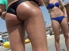 Bikini Babe Black Thong