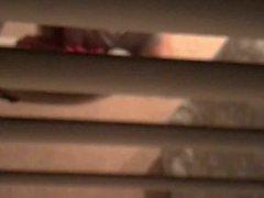 HOT POLISH GIRL STRETCHING IN PINK PANTIES SPY