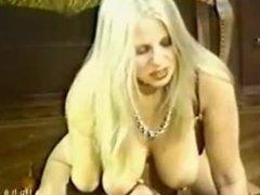 Vintage Saggy Tits Filthy Golden Shower  Huge Cumshot
