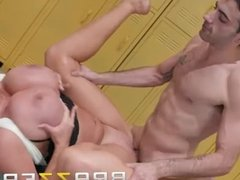 Brazzers - Hot Milf Sybil Stallone wants some young cock