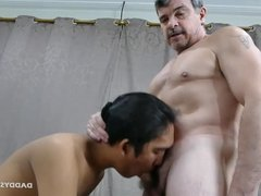 Daddy and Young Freddy Barebacking