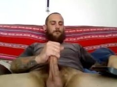 Sexy Argentine Str8 Dude Shoots a Big Load #119