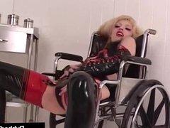 Latex Nurse RubberDoll Experiments On Mental Patient K-La!