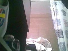 Spanish girl shower 2