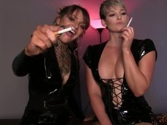 MILF Smoking Jerk Off Instructions JOI
