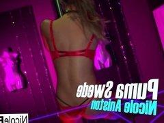 Strip Club lesbians Nicole and Puma