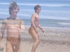 Justin Owen at the beach