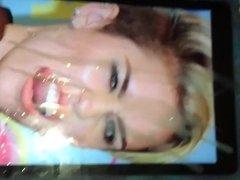 Miley Cyrus Cum Tribute Compilation