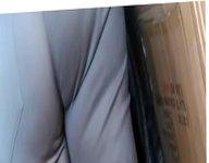 Thick Latina Mature Huge Butt at flea market