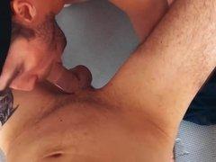 Bareback orgy of Russian hunks in basement