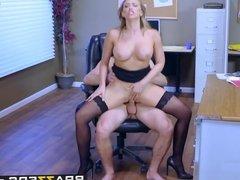 Brazzers - Big Tits at Work - Kagney Linn Karter and Michael