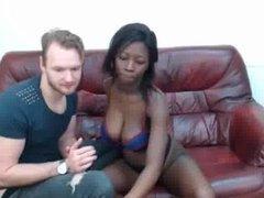Interracial cam couple 2