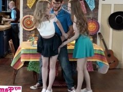Step Sis And Teen Friend Sneak Fuck At Cinco De Mayo Party S2:E5